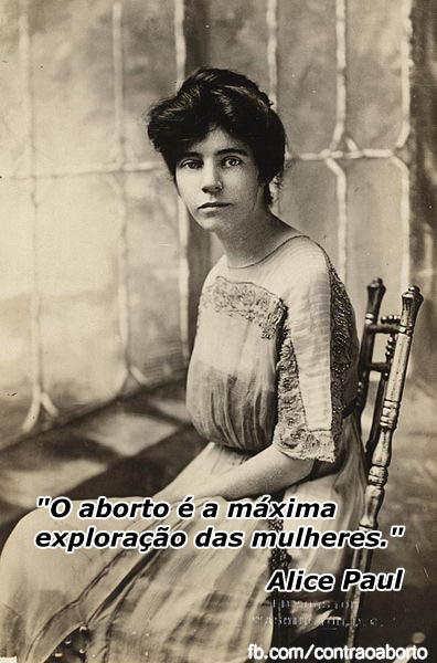 Alice Paul - Aborto