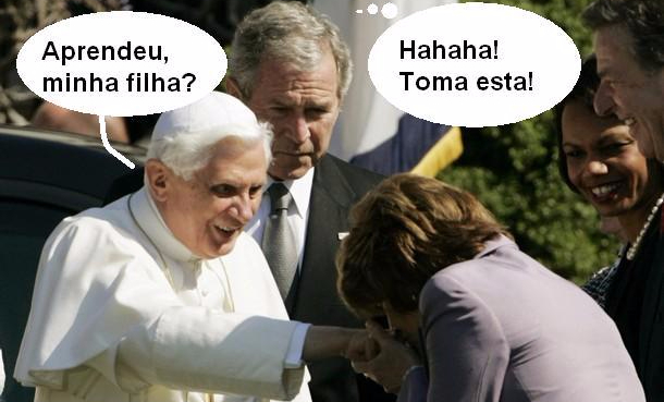 Pope and Pelosi